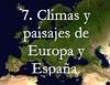climas y paisajes de europa y españa