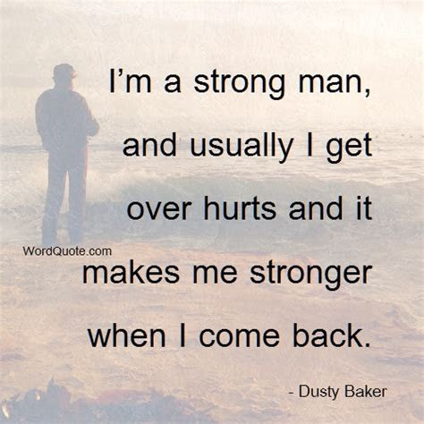 Loving A Strong Man Quotes