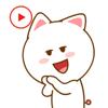 KIM KON KET - Animated Kitty Sticker artwork