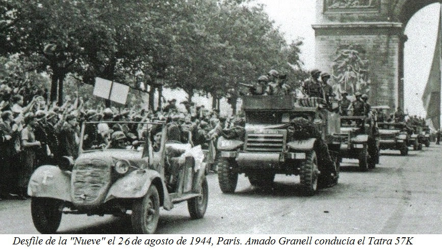 Republicanos españoles en París.