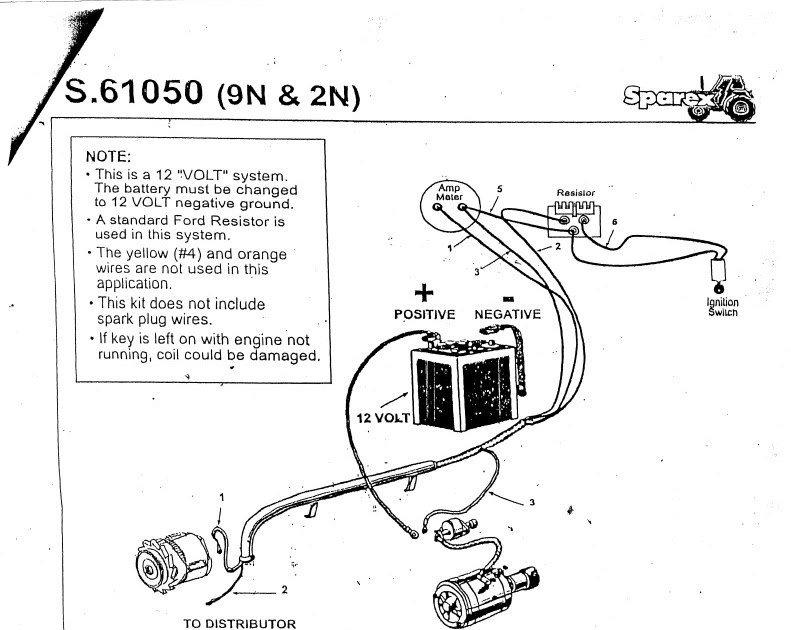 33 Ford 8n Wiring Diagram 6 Volt