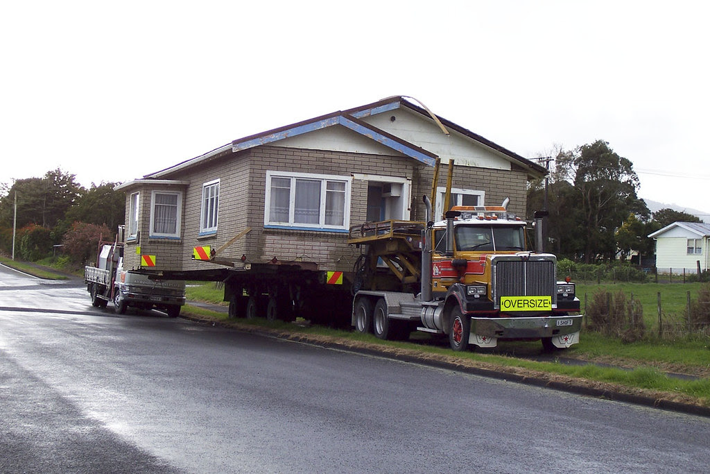 Moving house New Zealand style | Flickr - Photo Sharing!
