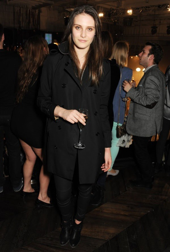 8 Charlotte Wiggins at the Burberry 'Live at 121 Regent Street' event.