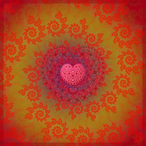 Valentines love fractal