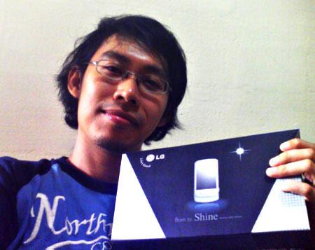 The new LG Shine