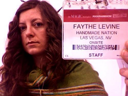 Faythe at Pool Tradeshow