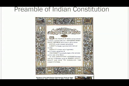 Newest For Preamble Of Indian Constitution In Kannada