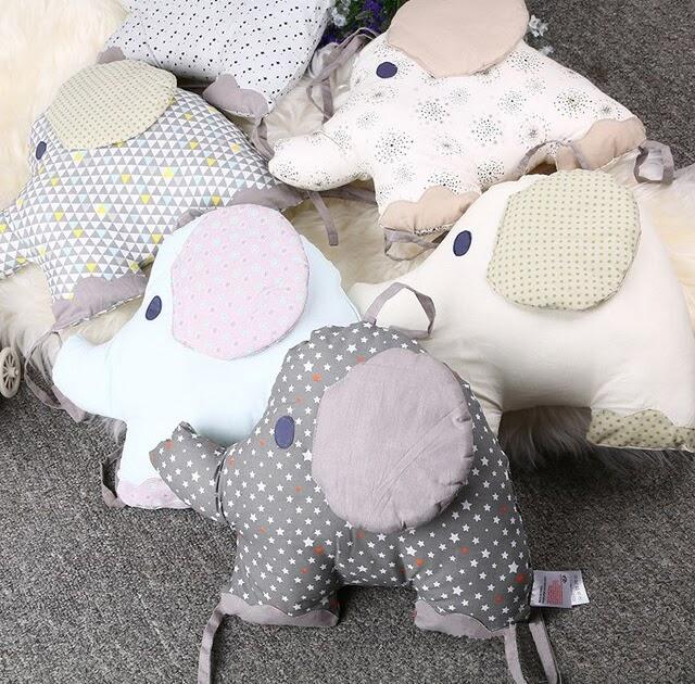 cb1bc6031759 Cheap 1 PC Baby Bed Bumper For Newborns Elephant Crib Bumper Infant ...