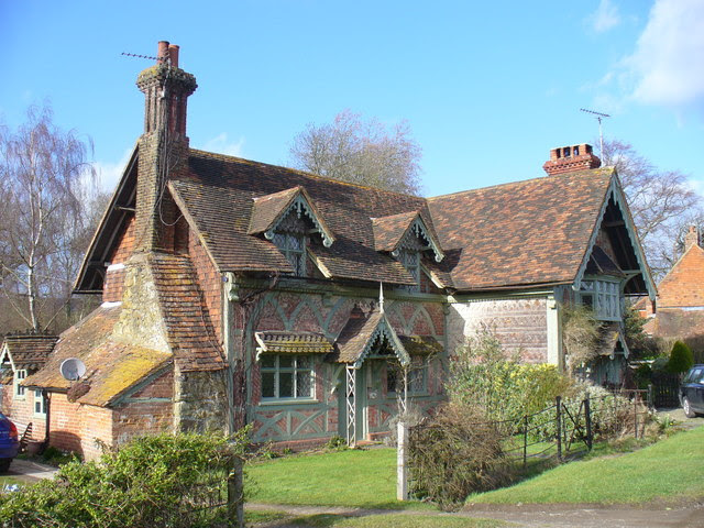 Old Cottages, Ockley