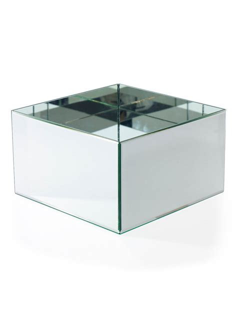 Mirror Cube 12x12x7 Display & Planter Box