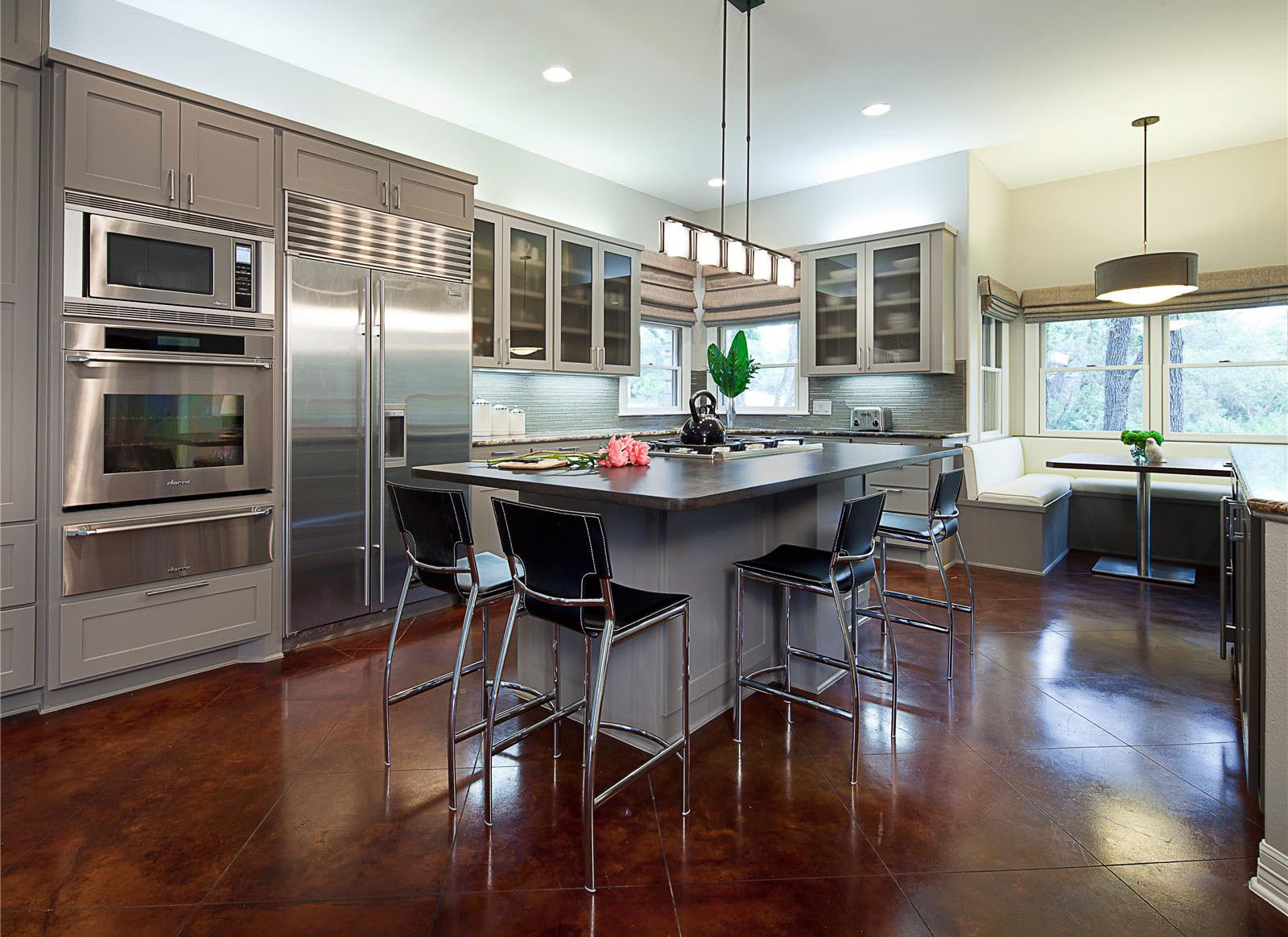 Open Contemporary Kitchen Design Ideas | iDesignArch ...