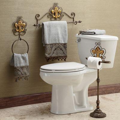 Fleur De Lis Bath Accessories From Ginny S