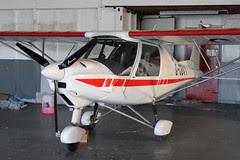 G-CBVY - 2002 build Comco Ikarus C42 FB80, temporary Barton resident