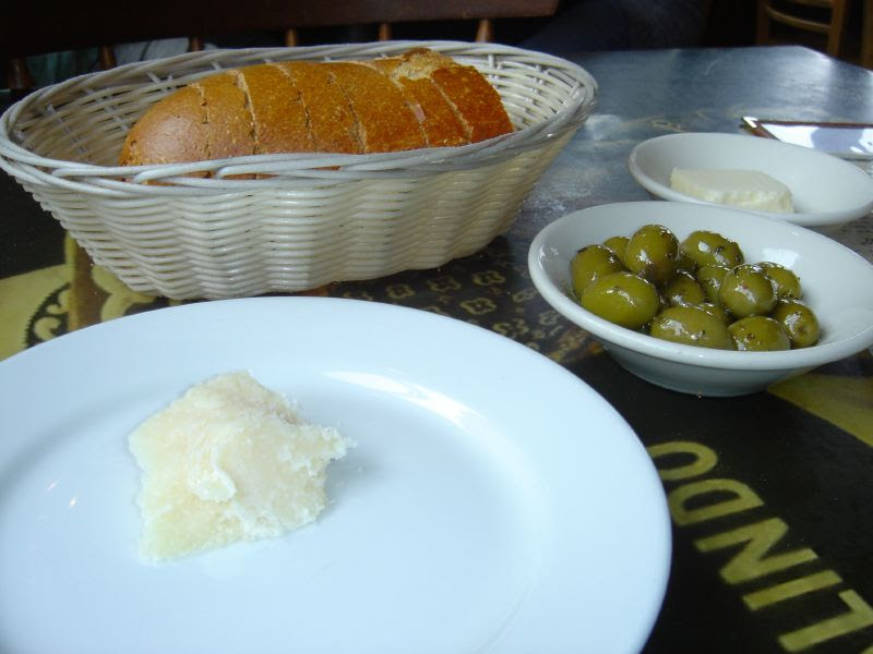 Parmesean Olives and Bread