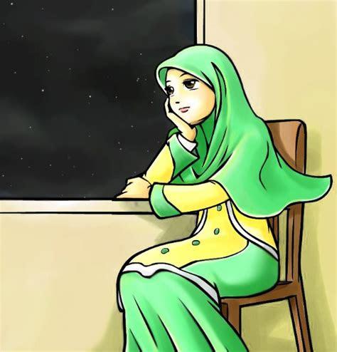 koleksi gambar kartun animasi guru  bagus