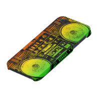 reggae boombox covers for iPhone 5