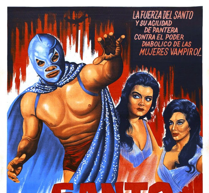 Apocalypse Later Film Reviews: Santo vs. The Vampire Women (1962)