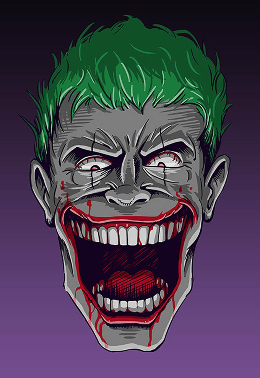 Koleksi Gambar Joker Kartun Keren Background Wallpaper