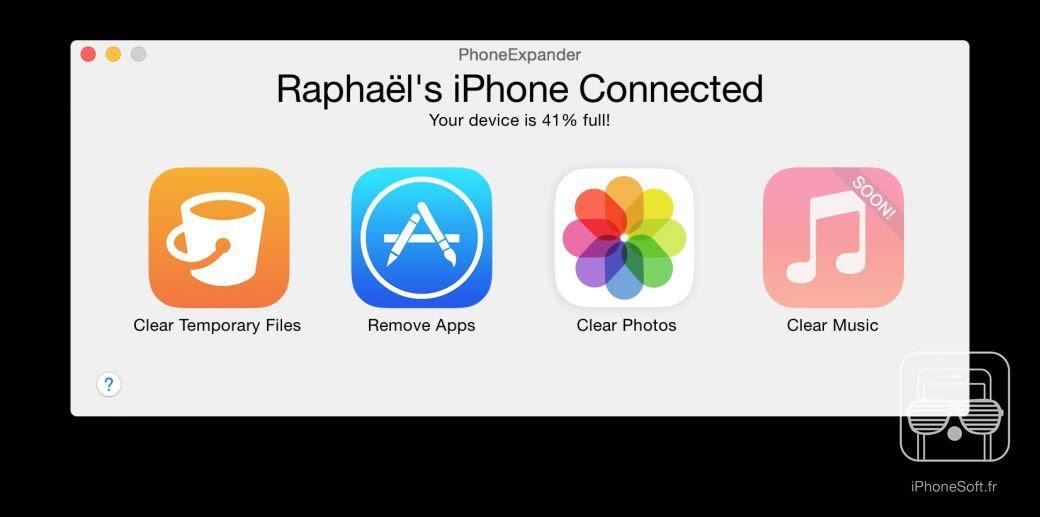Iphone  Memoire