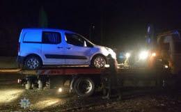 У Чернівцях п'яний водій спричинив аварію на Хотинській (фото)