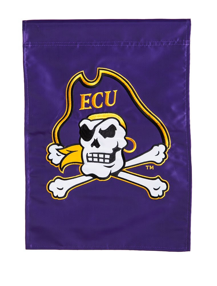 Amazon.com : East Carolina University Pirates House Flag : Outdoor ...