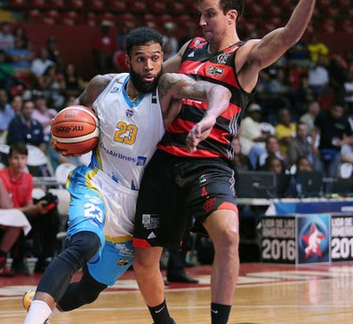 Marcelinho Machado Flamengo Tony Bishop Jr Correcaminos Liga das Américas basquete (Foto: Jose Jimenez-Tirado/FIBA Americas)