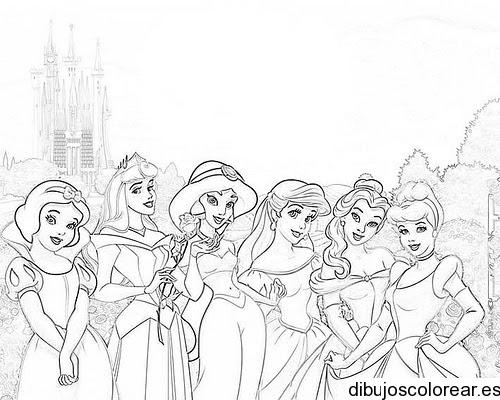 Dibujos Para Colorear Navidad Princesas Disney Imagesacolorierwebsite