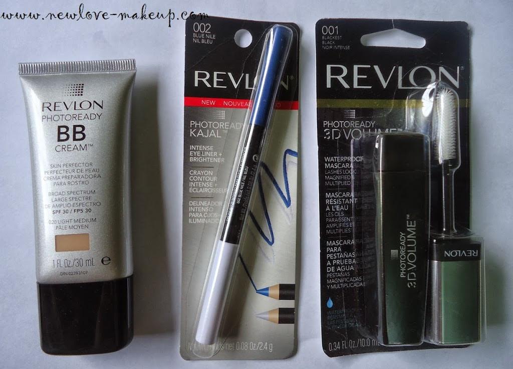 Revlon Photoready Bb Cream 3d Mascara And Kajal Review Swatches