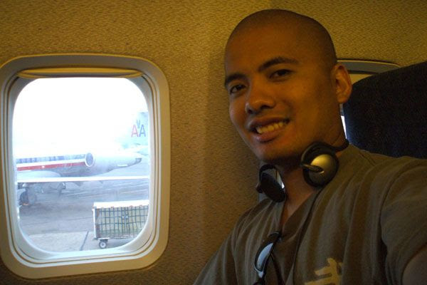 At Los Angeles International Airport, waiting for my flight to Fort Lauderdale to begin...on August 13, 2008.