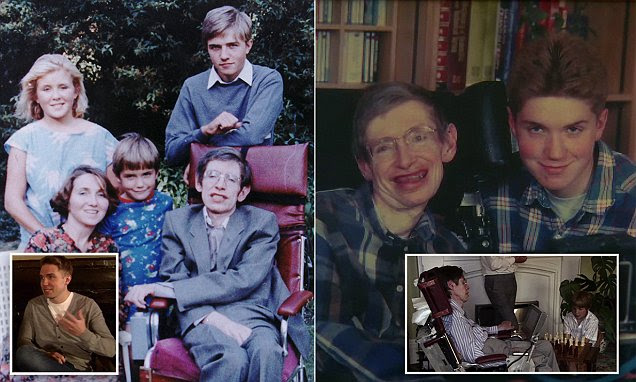 My father could not talk to me until I was five: A touching portrait of Stephen Hawking's