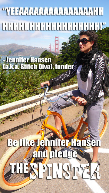 Jennifer Hansen backed The Spinster