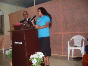 Missionários Rudimar de Souza Simão e Maria Cândida