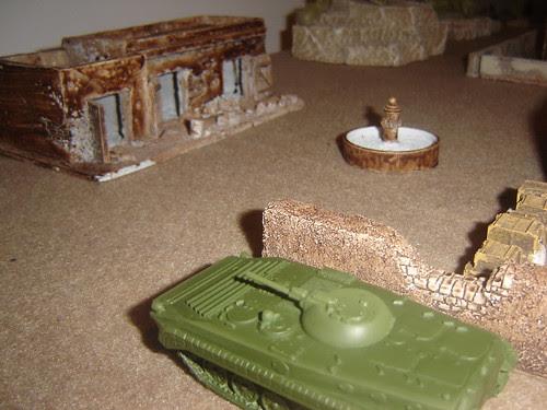 BMP Retreats (avoiding IED)