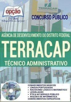 Apostila TERRACAP Técnico Administrativo 2017.