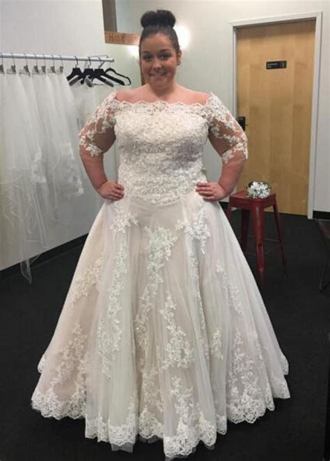 Modest Bateau Neck 2016 Plus Size Wedding Dresses Cheap
