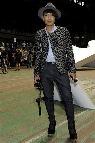 Bryanboy at 3.1 Phillip Lim Spring Summer 2011