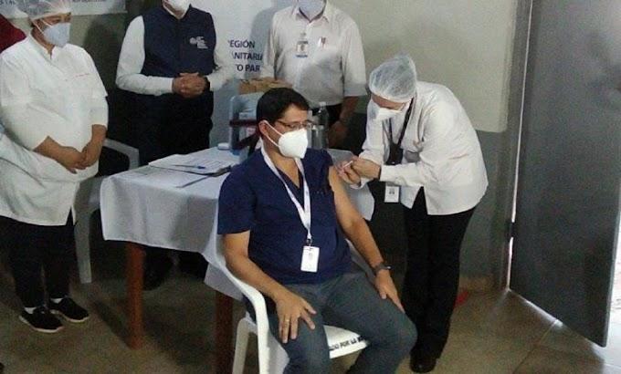 Covid-19: Prosigue campaña de vacunación en Ciudad del Este y Encarnación