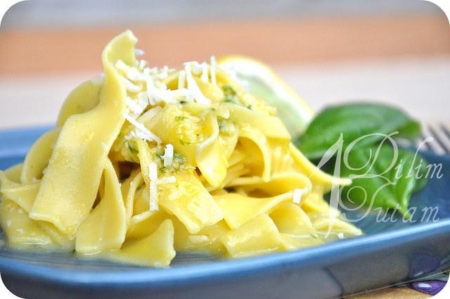 limon soslu makarna