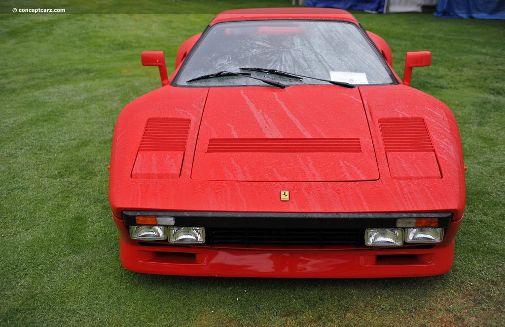 1980 Ferrari 308 at the Concorso Italiano - A Celebration ...