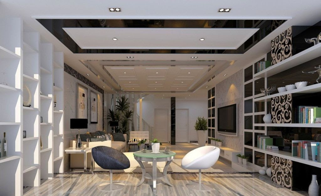 Modern Ceiling Designs For Living Room Guccihousecom