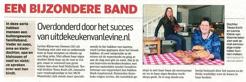 Artikel in krant het AD 16/01/2013