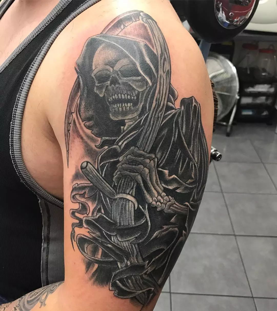 95+ Best Grim Reaper Tattoo Designs & Meanings - (2019)
