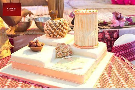 Nigerian Traditional Engagement Wedding Cakes: Gorgeous