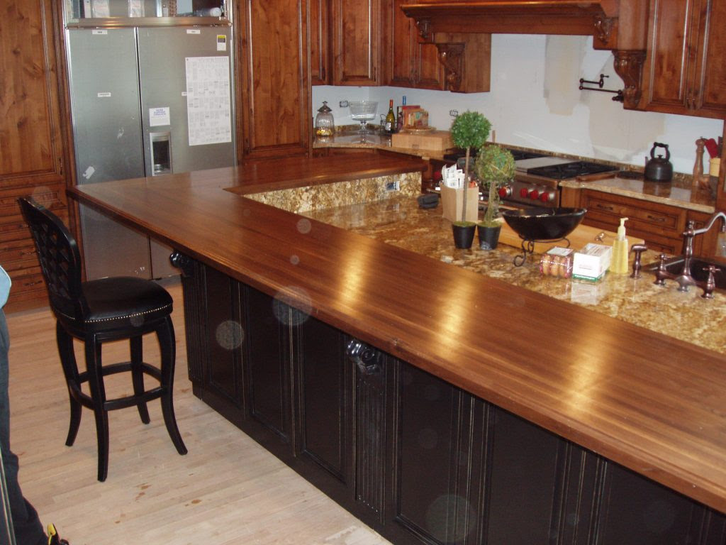 Natural Wooden Kitchen Countertops for a Trendy Look ...