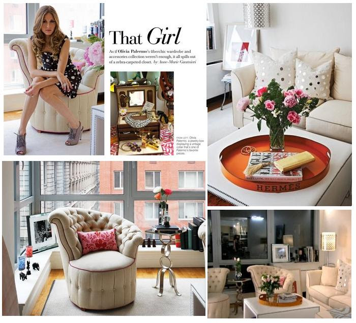Olivia Palermo Apartment | Bill House Plans