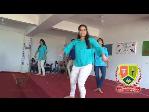 Azaad Hai Jeena Muje : Inspiring Dance Perfromance | Teachers Day | Nims University