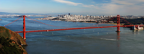 Photo Golden Gate Bridge by copyright © Ray Fisher, San Francisco, CA. for my new article en my new blog...