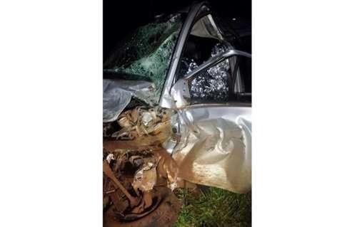 Três Barras - Grave acidente deixa vítima fatal na PR-471