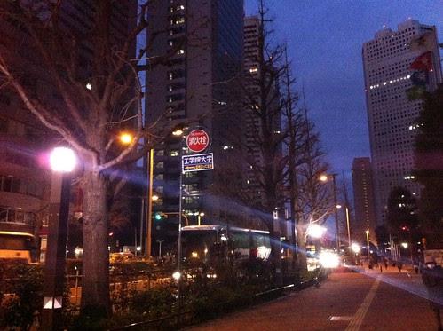 Shinjuku at dawn