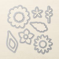 Flower Fair Framelits Die by Stampin' Up!